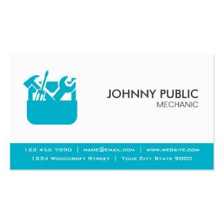 Mecánico - tarjetas profesionales - cualquier tarjetas de visita