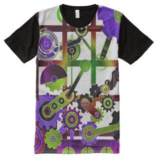 Mecánicos Camisetas Con Estampado Integral