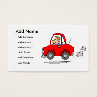 Mecánicos o tarjeta del negocio/del perfil de