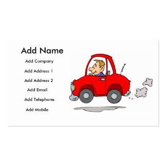 Mecánicos o tarjeta del negocio/del perfil de tarjetas de visita