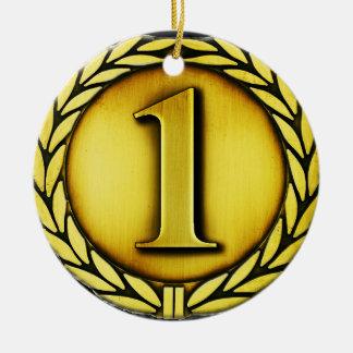 medalla de oro adornos