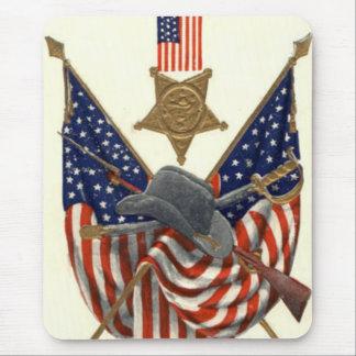 Medalla Eagle de la guerra civil de la unión de la Alfombrilla De Ratón