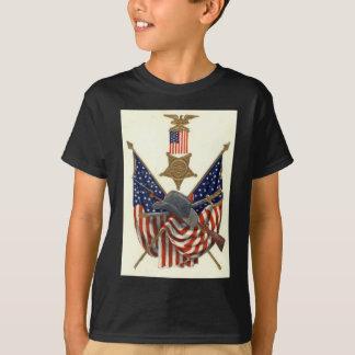 Medalla Eagle de la guerra civil de la unión de la Camiseta