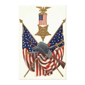 Medalla Eagle de la guerra civil de la unión de la Impresiones En Lona