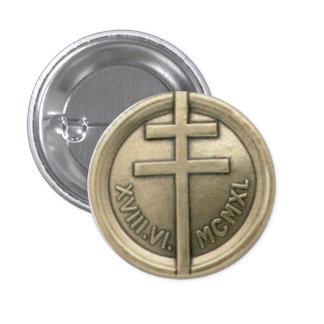 Medalla francesa de la resistencia chapa redonda de 2,5 cm