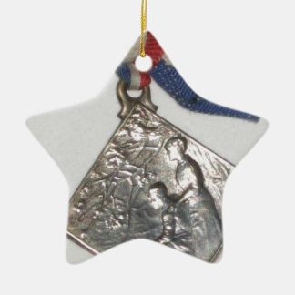 """""""Medalla patriótica de la guerra - Francia """" Ornamento De Reyes Magos"""