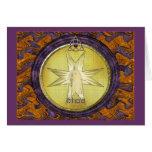 Medallón de I'shoa (Jesús) Tarjetas