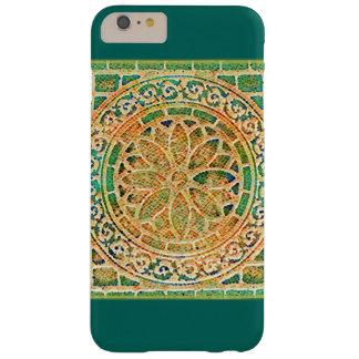 Medallón de la teja de mosaico funda barely there iPhone 6 plus