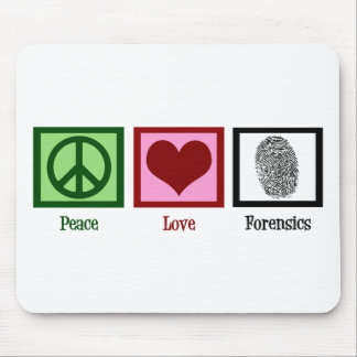 Medecina legal del amor de la paz alfombrilla de ratón