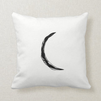 Media almohada de la luna negra simple