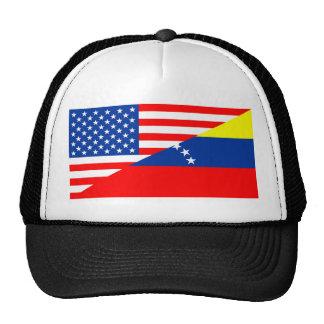 media bandera los E.E.U.U. de Estados Unidos Gorro