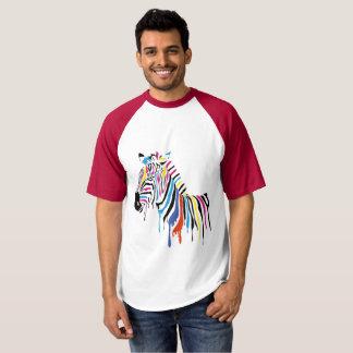 Media camiseta de las mangas de los hombres