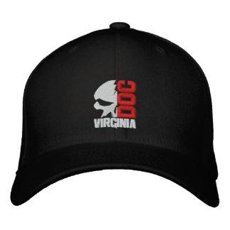Media gorra de béisbol del personalizado del cráne
