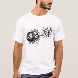 media luna, sol y viento camiseta