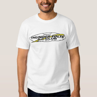 Media luna, voltios del trueno de NY Camiseta
