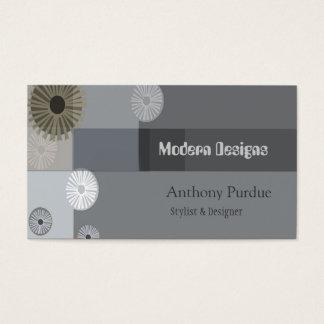 Mediados de siglo profesionales modernos retros tarjeta de negocios