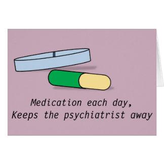 Medicación cada tarjeta del día (psiquiatra)