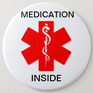 Medicación dentro del botón alerta médico
