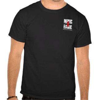 Médico 9 básicos - martillado y cincelado camiseta