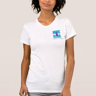 Médico básico, 9, martillados y cincelados camiseta