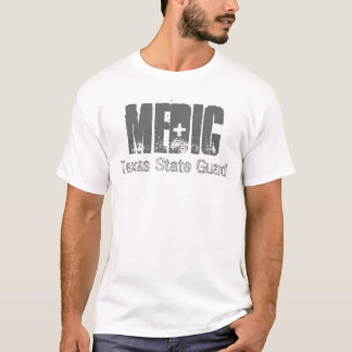 MÉDICO, camisa del Guardia-T del estado de Tejas