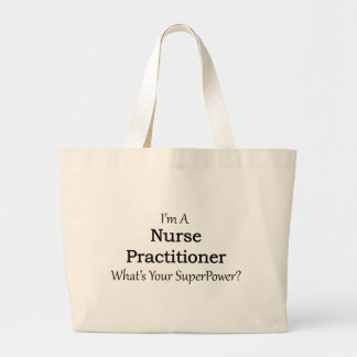 Médico de la enfermera bolsa tela grande