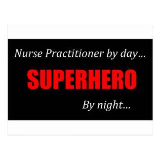 Médico de la enfermera del super héroe postales