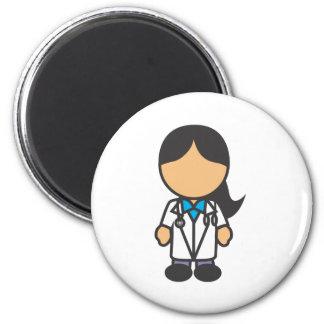Médico de sexo femenino profesión imán