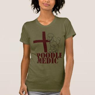 Médico del caniche camiseta