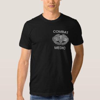 Médico del combate camisetas