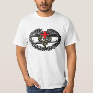 Médico del combate - color w/Slogan Camiseta