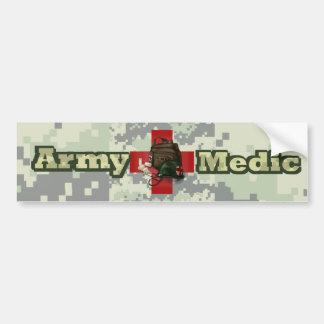 Médico del ejército pegatina para coche