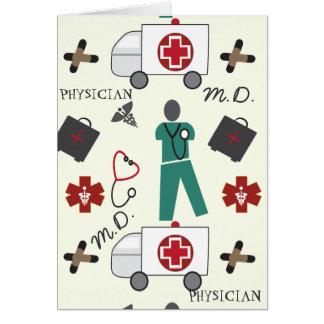 Médico Tarjeta De Felicitación