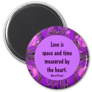 medida de amor imán redondo 5 cm