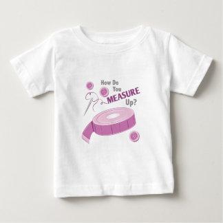 Medida para arriba camiseta de bebé
