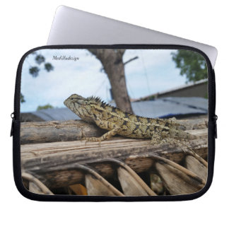 Medilludesign - camaleón funda para ordenador
