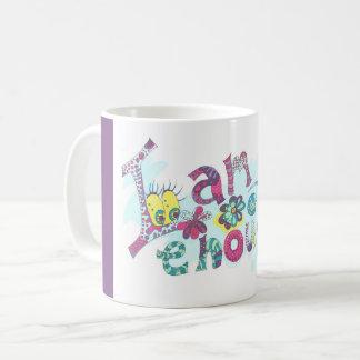Medilludesign - feliz cumpleaños - soy bastante taza de café