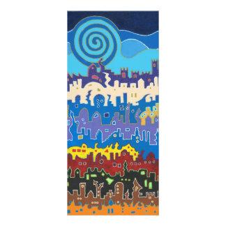 Medina de Fes - tarjeta larga Tarjeta Publicitaria Personalizada