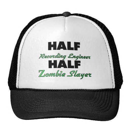 Medio asesino del zombi del medio ingeniero de la  gorro