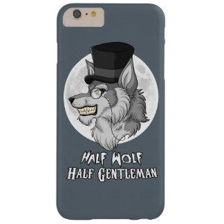 Medio caballero del medio lobo funda barely there iPhone 6 plus