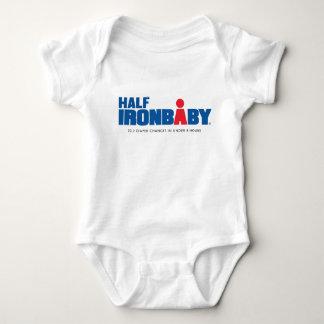 Medio mono del bebé del hierro body para bebé