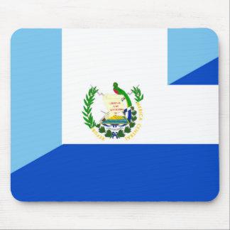 medio símbolo del país de la bandera de Guatemala Alfombrilla De Ratón