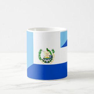 medio símbolo del país de la bandera de Guatemala Taza De Café