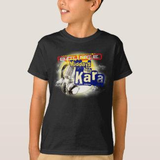 Mediodías con la camiseta negra del niño de Kara