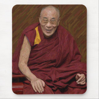 Meditación budista Yog del Buddhism de Dalai Lama Alfombrilla De Ratón