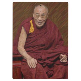 Meditación budista Yog del Buddhism de Dalai Lama Carpeta De Pinza