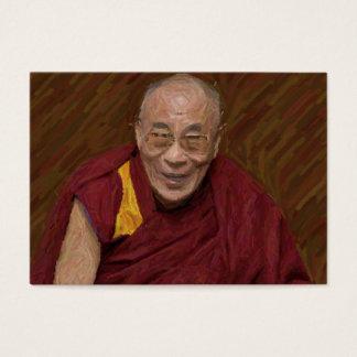 Meditación budista Yog del Buddhism de Dalai Lama Tarjeta De Negocios
