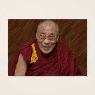 Meditación budista Yog del Buddhism de Dalai Lama Tarjeta De Visita