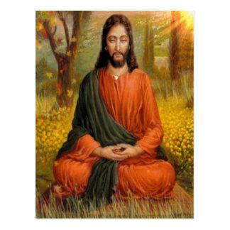 Meditación del Jesucristo Postal