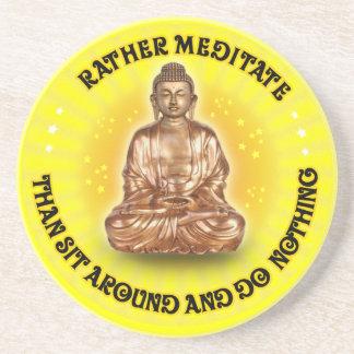 Meditate bastante que se sientan alrededor… posavasos manualidades